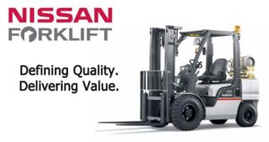 Nissan Forklift Corporation a UniCarriers Americas company and manufacturer of pneumatic forklifts, cushion forklifts, electric lift trucks, walkie and rider pallet trucks, tuggers, reach trucks, order pickers, and electric stackers