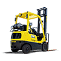 Used Pneumatic forklift