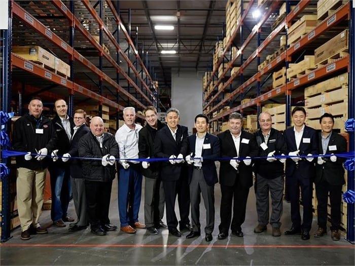 Doosan forklift opens parts distribution center