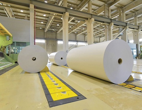paper manufacturing facility